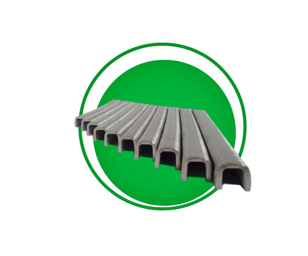 Grampo para grampeador pneumático